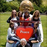 Celebrate the Iranian New Year with Giant Gandhi Puppet of Peace-i
