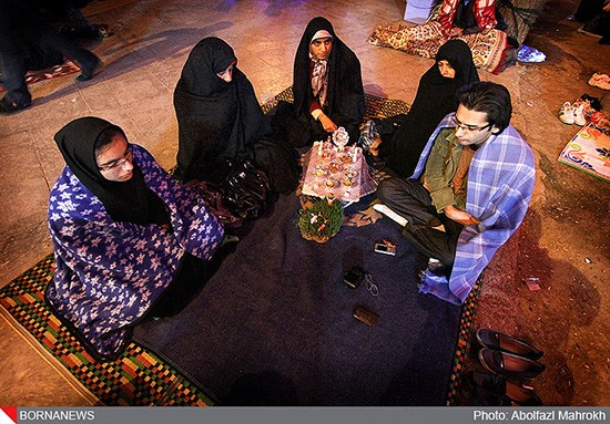 Persian-New-Year-at-Masumeh-Shrine-qom-02