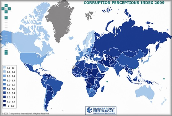 corruption-index-2009