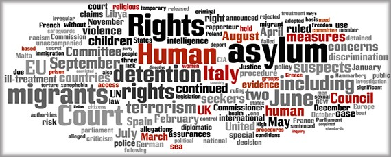 Issues: Counterterrorism Measures and Human Rights, Common EU Asylum and Migration Policy