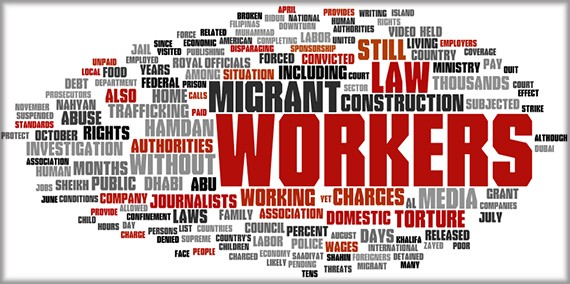 Issues: Migrant Worker Rights, Torture , Criminal Justice System, Freedom of Association and Expression