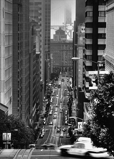 By: Mahyar Rahmatian Title: California Street