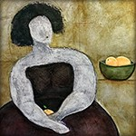 Nilou-Farzaneh-Woman-with-Oranges-i