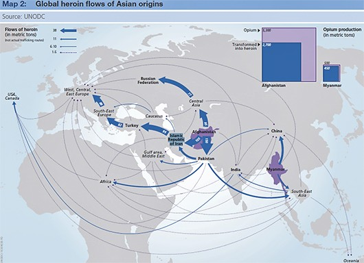 asian-origin--heroin-flows
