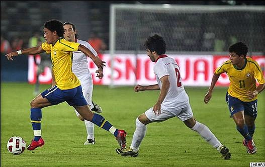 Brazil beat Iran 3-0 in a friendly in the UAE on October 7