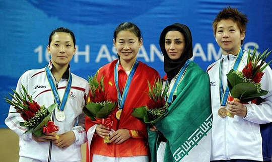 Samira Malekipour - Karate 68kg-category - Bronze