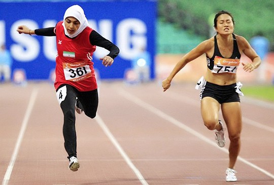 Maryam Toosi - 100m heat