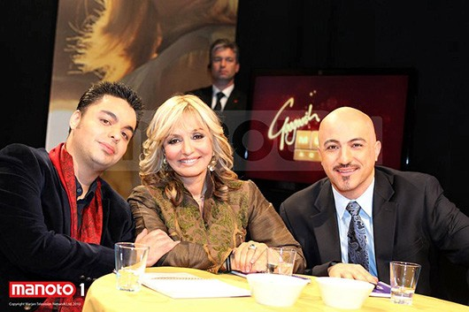 Music Academy Panel: Babak, Googoosh, Homan