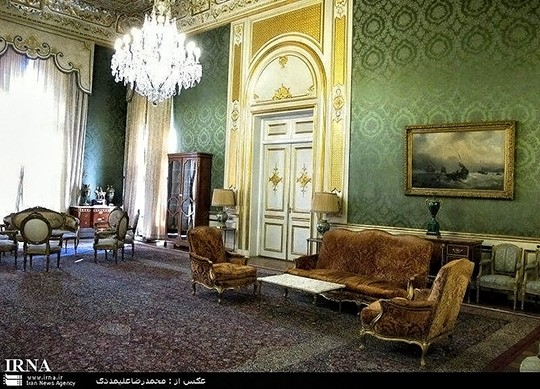 Formal Reception Room in Nation Palace, Used to Receive Ambassadors