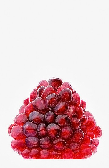 3- Red pomegranate seeds - 2,541 views 36 favorites