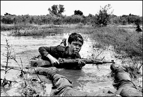 A thirteen year old Basij fighter, Susangard Iraq-Iran war -1980