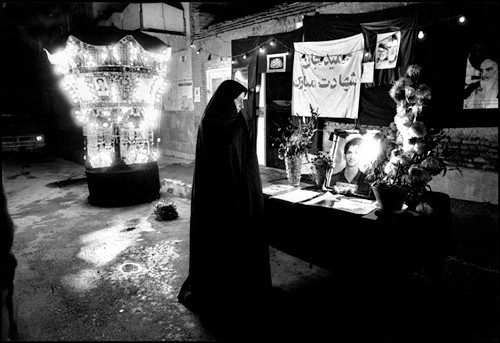 Thousand of young boys were killed during this 8-year-long Iran-Iraq war. Tehran - 1981