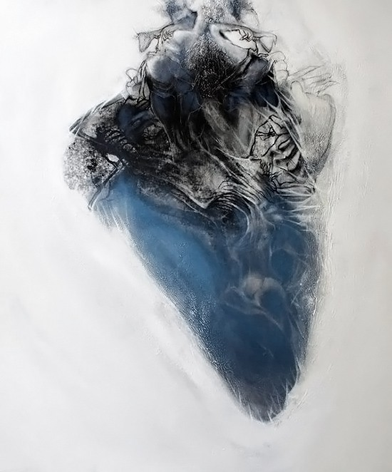 Art Gallery Cocoon Abstract Human Body By Laleh Ardestani