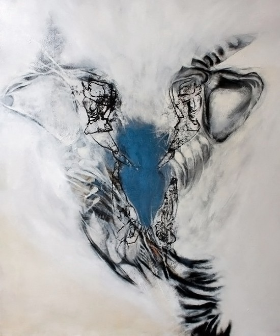 Abstract Art Bodies Art Gallery: Cocoon, A...