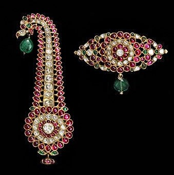 Turban ornament - South India - 19th-century