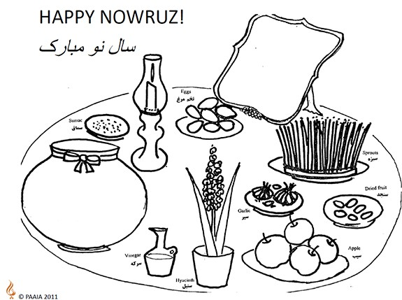 Nowruz Coloring Pages