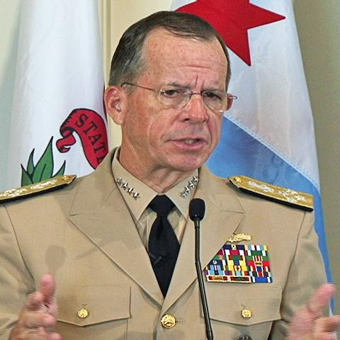 Chairman of the U.S.Joint Chiefs of Staff Admiral Mike Mullen (file photo) - Admiral-Mike-Mullen
