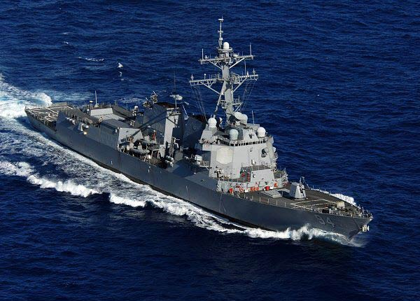 Iran confirms warning US Navy near Strait of Hormuz