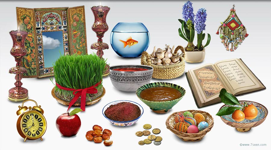 Norooz, the Persian New Year at the spring vernal equinox