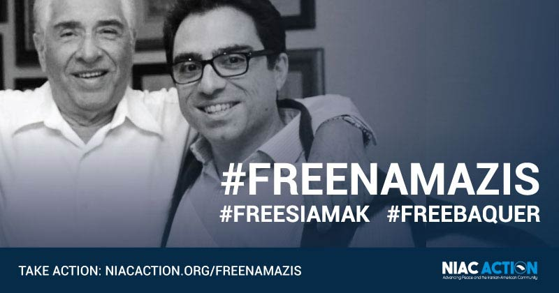 UN Group Says Two Americans, Siamak and Baguer Namazi, Unjustly Held In Iran